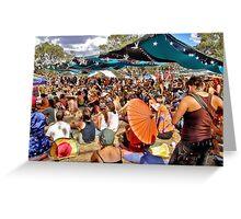 RAINBOW SERPENT FESTIVAL '08 Greeting Card