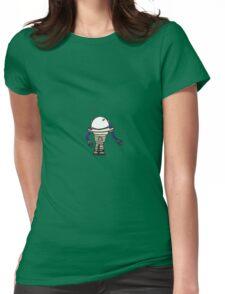 Robot *Blue* Womens Fitted T-Shirt