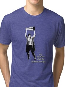 to know the Stanley Cup is to love him.... Tri-blend T-Shirt
