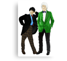 Doctor Who - Doctors 2 and 3 Canvas Print