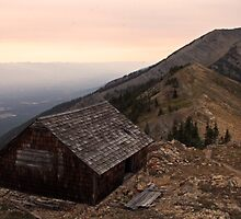 Cabin on the Swan Range by Chase Ankeny