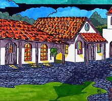 California Mission San Antonio de Padua by James Peele