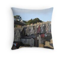 STEPING  HOUSES COBH Throw Pillow