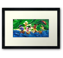 A Paradox of Peril Framed Print