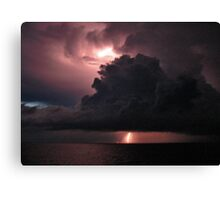 Ocean Charge Canvas Print