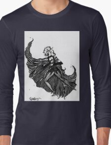 NBC Jane Skellington Costume Design Drawing Long Sleeve T-Shirt