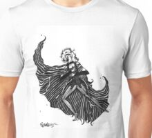NBC Jane Skellington Costume Design Drawing Unisex T-Shirt