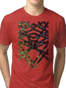color damage Tri-blend T-Shirt