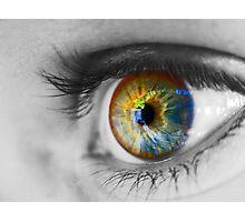 The Eye Photographic Print