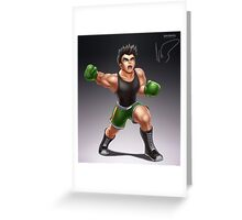 Little Mac Greeting Card
