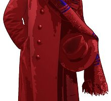 The 4th Doctor - Tom Baker by Chris Singley