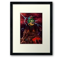 The Dystopian King Framed Print