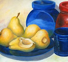 yellow pears by VioDeSign