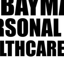 Hello, I am Baymax! Sticker