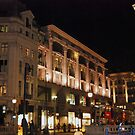 Streets of London - Oxford Street at Night by KarenM