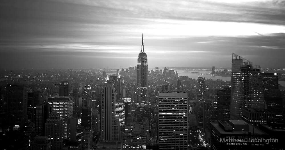 New York (h) by Matthew Bonnington