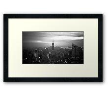 New York (h) Framed Print