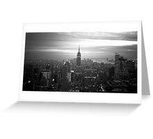 New York (h) Greeting Card