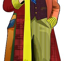 The 6th Doctor - Colin Baker by Chris Singley