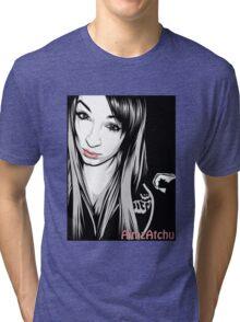 AimAtchu Vector Shirt Tri-blend T-Shirt