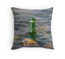 Chilling the 'Buckfast' Throw Pillow