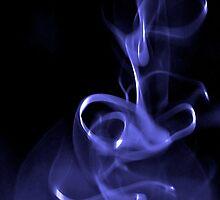indigo smoke by Jessica Karran