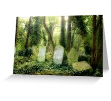 Abney Park Cemetery Greeting Card