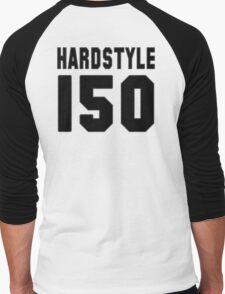 Hardstyle Football (Black) Men's Baseball ¾ T-Shirt