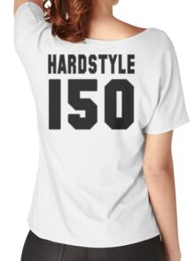 Hardstyle Football (Black) Women's Relaxed Fit T-Shirt