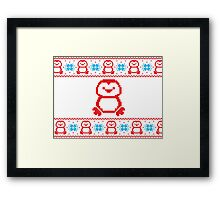 Ugly Christmas Sweater I Framed Print
