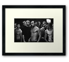 Presidential Fight Club Framed Print