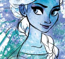 Watercolour Elsa Sticker