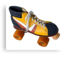 Retro Roller Skate Canvas Print
