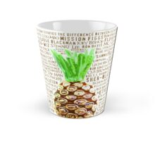 Psych Burton Guster Nicknames - Television Show Pineapple Room Decorative TV Pop Culture Humor Lime Neon Brown Tall Mug
