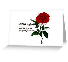 Gods favorite Greeting Card