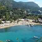 Pretty Greek Bay by Tom Gomez