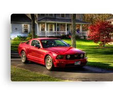 The Stang in HDR Canvas Print