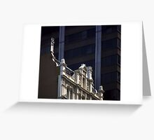 Photograph : Buildings, Collins Street, Melbourne Greeting Card