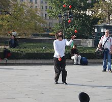 The Juggler by Peter Reid