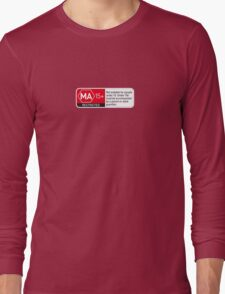 Rated MA+ T-Shirt