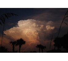 Tropical Storm Photographic Print