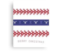 Ugly Christmas Sweater IIII Canvas Print