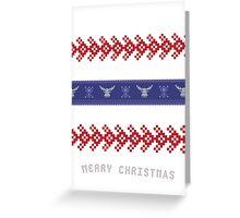 Ugly Christmas Sweater IIII Greeting Card