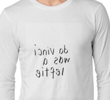 eitfel a saw icniv ad Long Sleeve T-Shirt