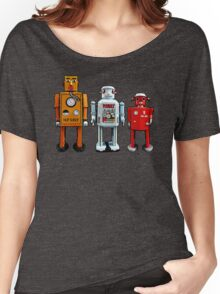 Three Robots. Women's Relaxed Fit T-Shirt