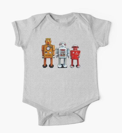 Three Robots. Kids Clothes