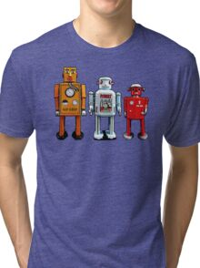 Three Robots. Tri-blend T-Shirt