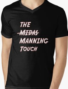 The Manning Touch Mens V-Neck T-Shirt