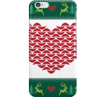 Ugly Christmas Sweater II iPhone Case/Skin