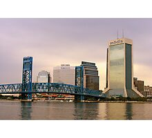 Jacksonville Skyline Photographic Print